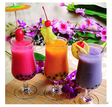 意蓝缇田园鲜果饮产品-鲜果奶茶系列