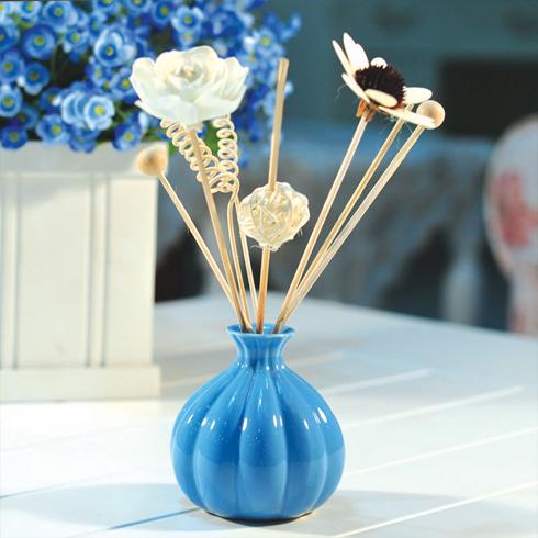 馥馨国际香薰产品-蓝色南瓜瓶