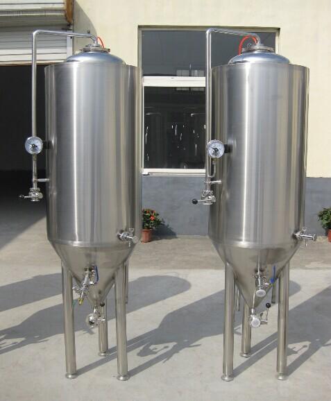 100升啤酒发酵罐设备