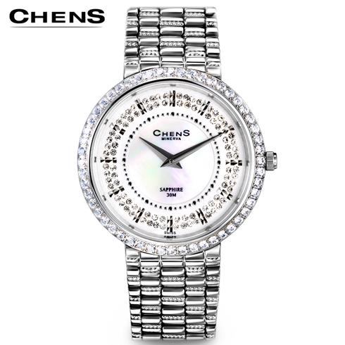瑞士CHENS手表产品-女表宝贝首页新款MNV009-28T-8Q-Z