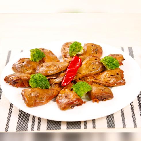 骨惑传奇排骨产品-辣翻天系列-香酥绝辣鸭头