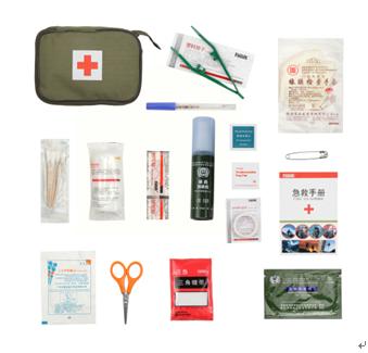 有备族应急救援产品-卫生防护应急包