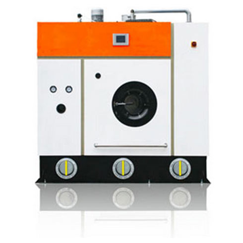 环保型全封闭制冷回收式不锈钢结构四氯乙烯干洗机