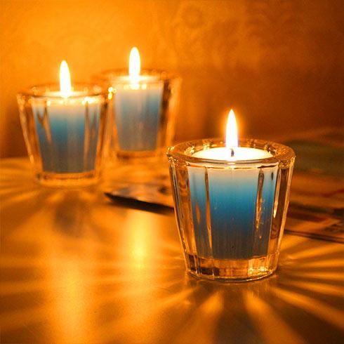水晶蜡烛手工蜡烛杯
