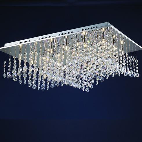 泰工照明灯饰产品-水晶吸顶灯