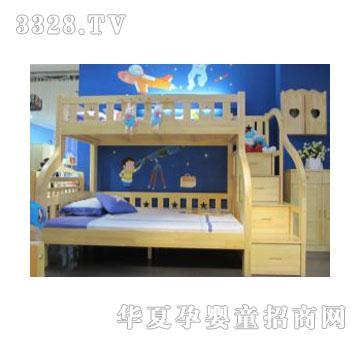 可爱多上下床s845_可爱多儿童家具-3158招商加盟网