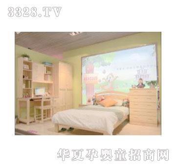 可爱多松木s712套房_可爱多儿童家具-3158招商加盟网