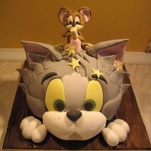 甜咪公主手工蛋糕产品-卡通蛋糕
