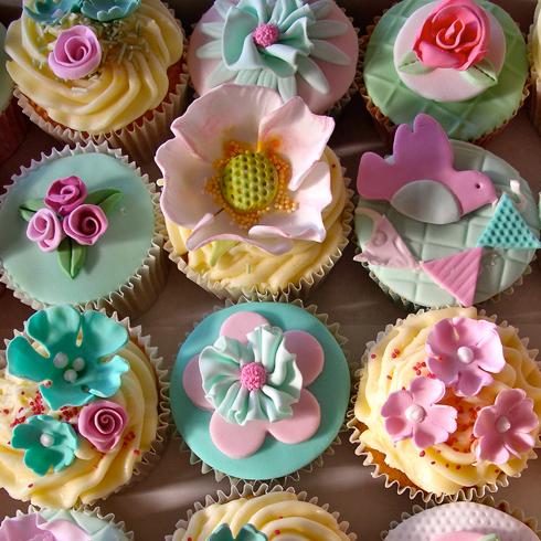 甜咪公主手工蛋糕产品-纸杯蛋糕