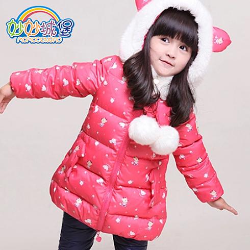 妙妙城堡童装产品-女童新款儿童羽绒服