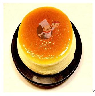 撤思叔叔起司蛋糕产品-香草味蛋糕