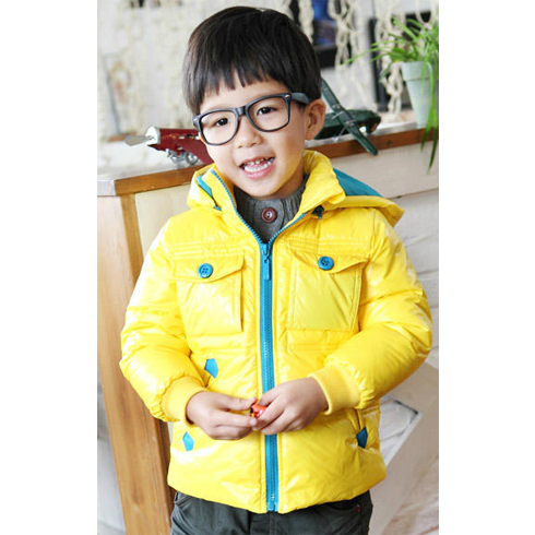 巴笛小宝品牌童装产品-韩版童装男童夹克潮款