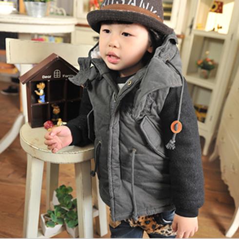 超级精灵童装产品-2014潮流儿童外套