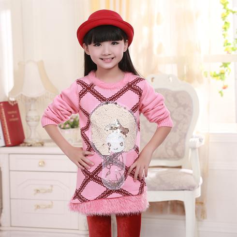 超级精灵童装产品- 超级精灵毛线针织衫