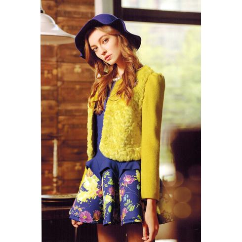 韩美后女装产品-时尚个性短款小西装衣