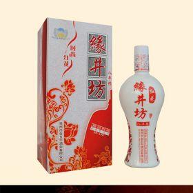 百年图缘酒系列产品-缘井坊红花白酒