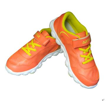 归佳定位鞋产品-归佳定位鞋橘黄色款