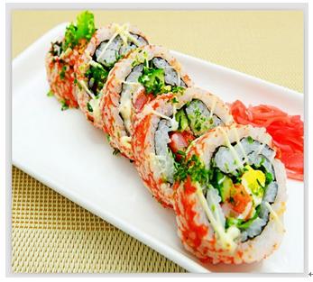禄丰堂寿司产品 水果寿司拼盘图片