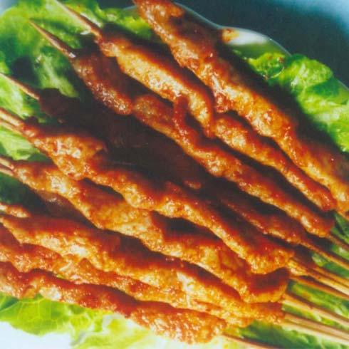 脆香烧烤产品-烤肉串