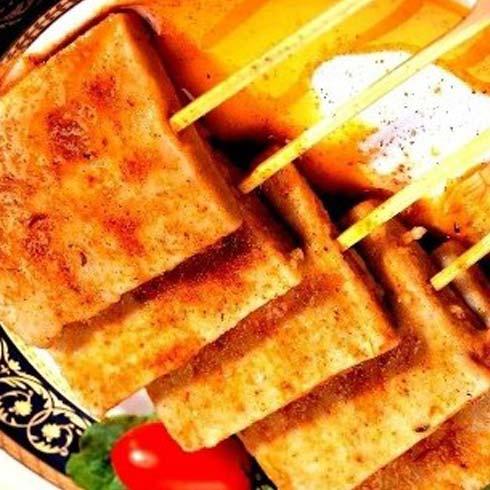 脆香烧烤产品-烤豆腐