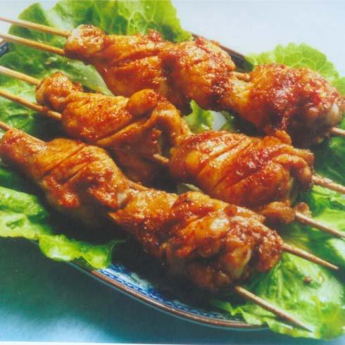 脆香烧烤产品-烤鸡腿