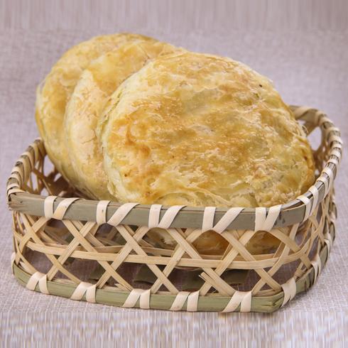 饼器时代掉渣馅饼美食产品-特色馅饼