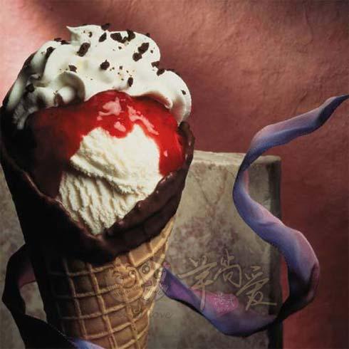 芋尚爱冰淇淋产品-蛋卷奶油冰淇淋