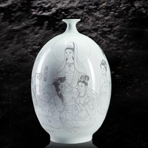 华光陶瓷产品推荐-大作坊艺术瓷系列-刻瓷艺术