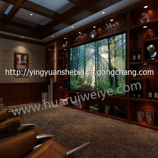 豪华高档家庭影院私人别墅影院定制中式装修风格