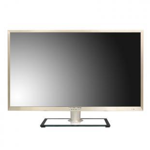 豫冠新品32寸拉丝金属边框液晶平板电视/显示器