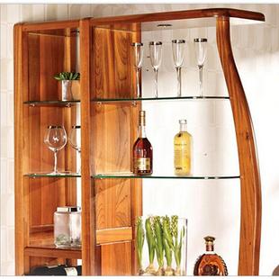 全实木酒柜隔断柜玄关柜 纯柚木酒柜现代中式风格 厂家直销可定制