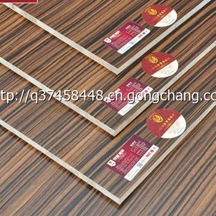 德国百强e0级环保17mm实木免漆板 生态板