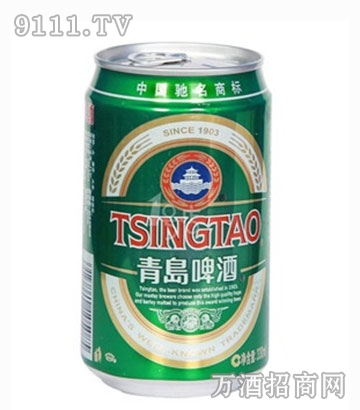青岛啤酒经典罐装330ml
