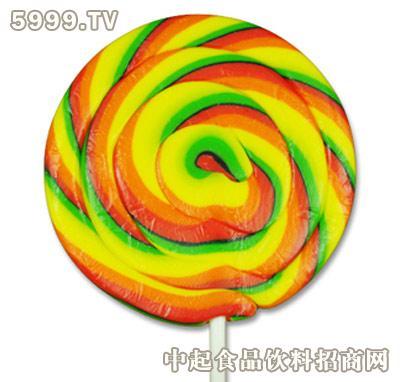 万森彩色波板棒棒糖