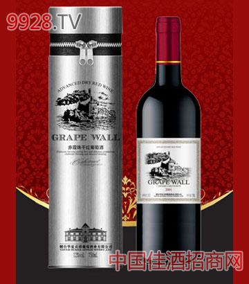 银色铁桶赤霞珠干红葡萄酒