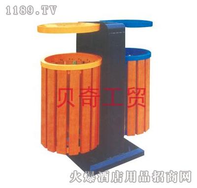 贝奇-环保垃圾桶系(双圆柱形)