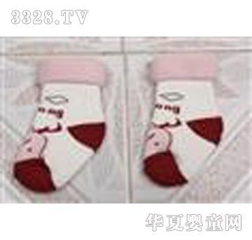 博宏白色童袜
