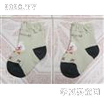博宏浅绿色童袜