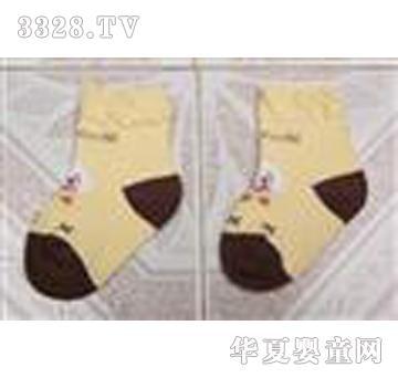 博宏米色童袜