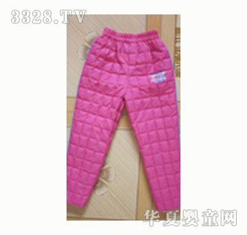冬之约4-13岁儿童保暖羽绒裤