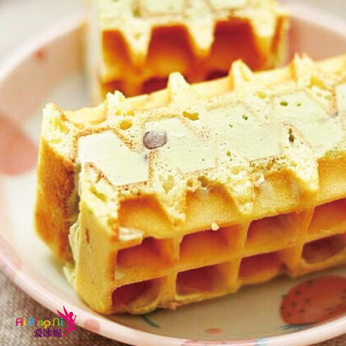 爱冰妮冰淇淋产品-美式华夫冰淇淋