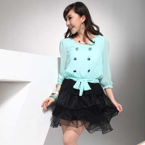 威姬儿斯女装产品-纺纱百褶裙