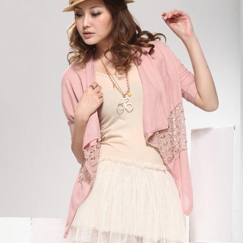 威姬儿斯女装产品-雪纺短裙中袖中长外套