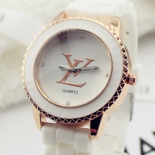 欧美时装名牌手表 果冻色学生手表硅胶女表 批发-格纳比尔手表加盟