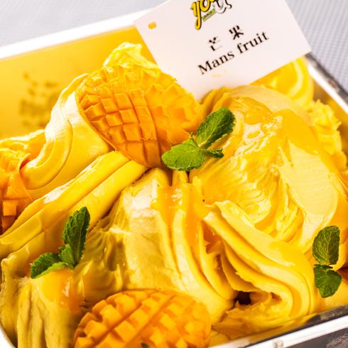 you-u冰淇淋产品-黄油芒果蛋糕