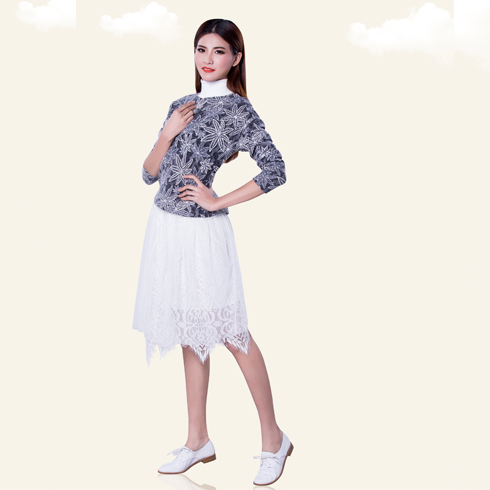 卡仙奴女装产品-早春蕾丝套装