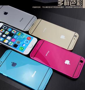 金属边框苹果6手机壳4
