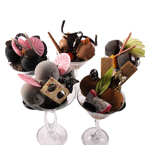 芋尚爱炭烧冰淇淋产品-意式炭烧风味冰淇淋系列