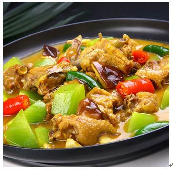 一品世家黄焖鸡米饭产品-秘制黄焖鸡