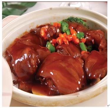 一品世家黄焖鸡米饭店美食-黄焖猪蹄